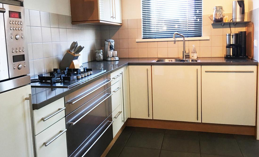 Keuken Kleur Veranderen : Folie keuken spuiten